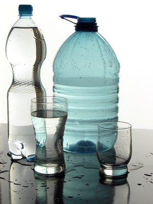 pictures of water bottles. ottles of minerale water