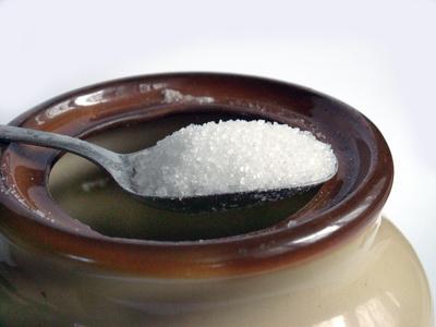 A teaspoon of sugar has 16 Kcals.