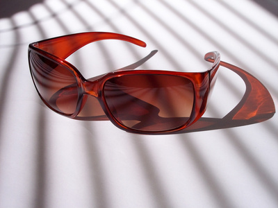 burgundy UV Sunglasses