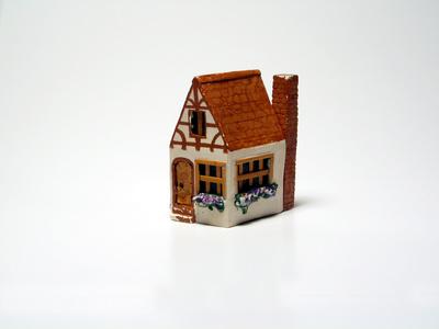 C mo hacer una casa en miniatura ehow en espa ol - Como hacer una casa de carton pequena ...