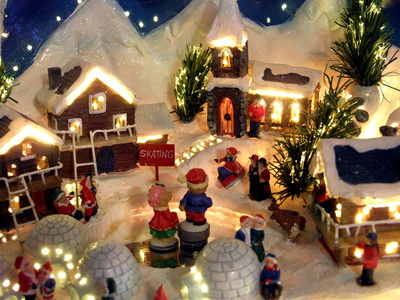 Miniature Artificial Christmas Tree