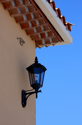 How to mount external light fixtures on existing stucco How to install exterior light fixture box