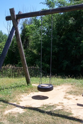 how to stabilize a swing set how to adult