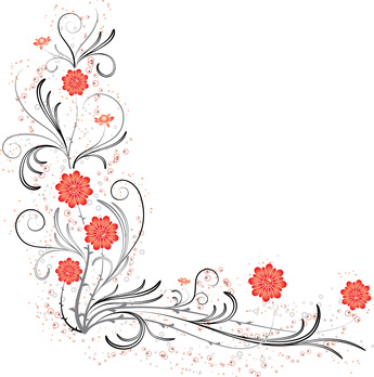 Como criar convites de casamentos com flores nas bordas for Bordas para mural