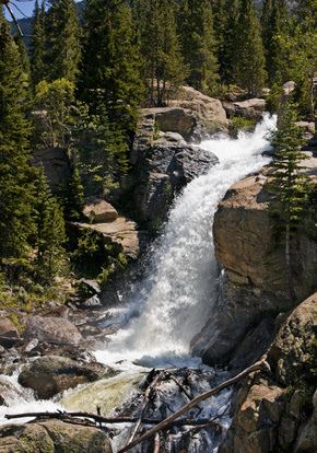 RV Parks In Idaho Falls Waterfalls Rocky Mountain National Park