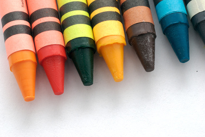 You can create easy kids crafts with simple supplies like crayons Easy Crafts For Kids At Home