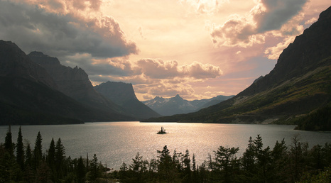 st. mary campground glacier national park mt. glacier national park image by