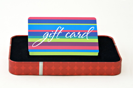 Gift Cards That Can Be Purchased With an Electronic Check