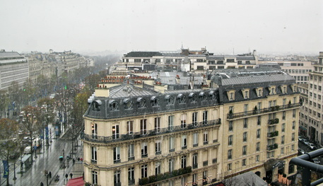 Paris sous la neige. Snow in Paris. France. image by Blue Moon from Fotolia.