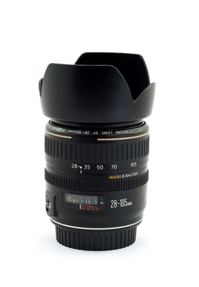 How to Connect a Canon Lens Hood
