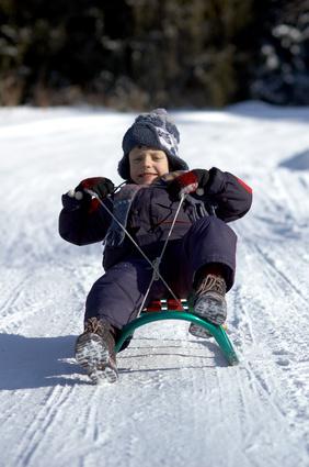 Sledding In Winter Park Colorado Usa Today
