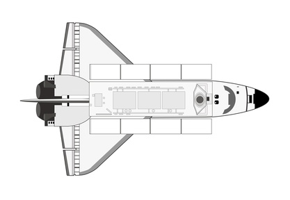 space shuttle template - photo #29