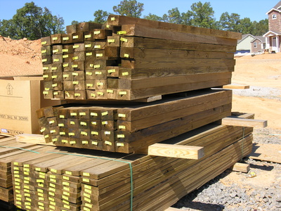 Types of Lumber Used Outside