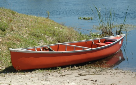 Reparation canoe polyethylene