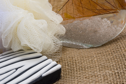 how to make nylon net scrubbies