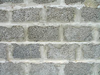 Una manera econ mica de disfrazar una pared de bloques de - Paredes de vidrio exterior ...
