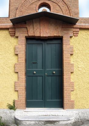 Las curas para las puertas del frente en el feng shui for De que color puedo pintar las puertas de mi casa