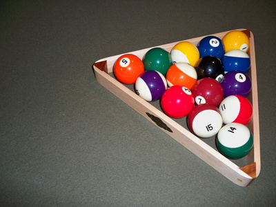 what is the proper way to rack pool balls livestrong