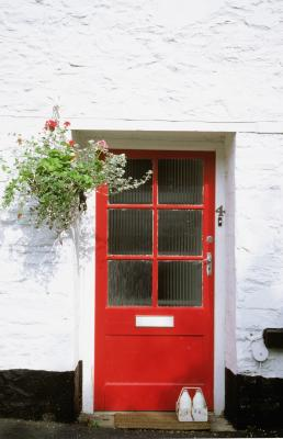 Painting Your Front Door A New Unexpected Color Home Guides Sf Gate