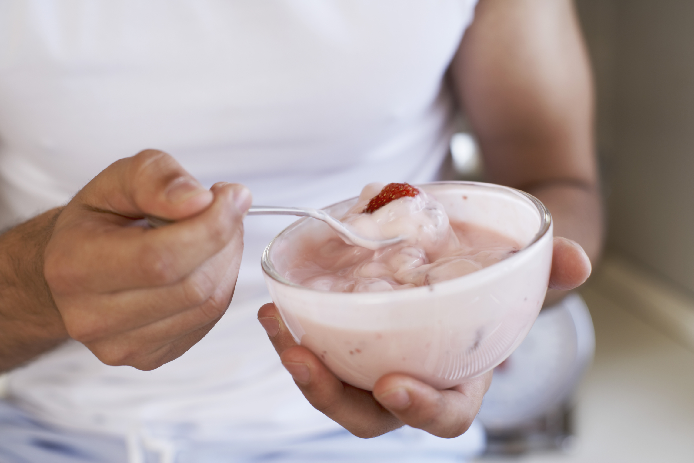 Yogurt comes in a variety of flavors, but they all contain lactose.