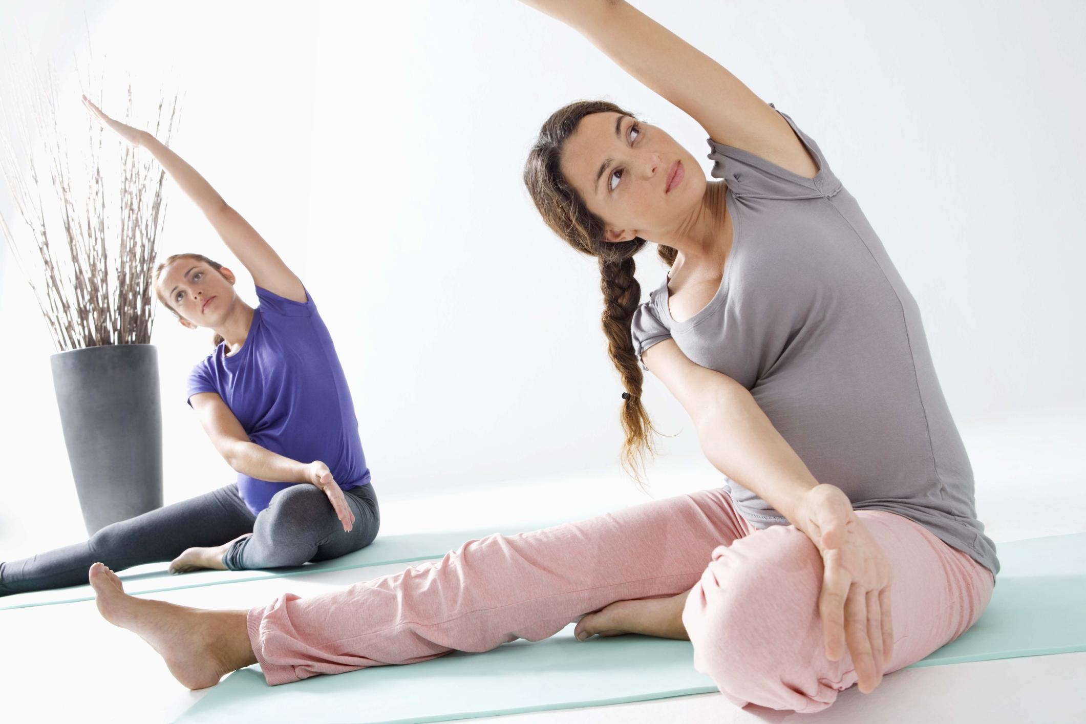 Гимнастика для беременных 2 триместр дома 44