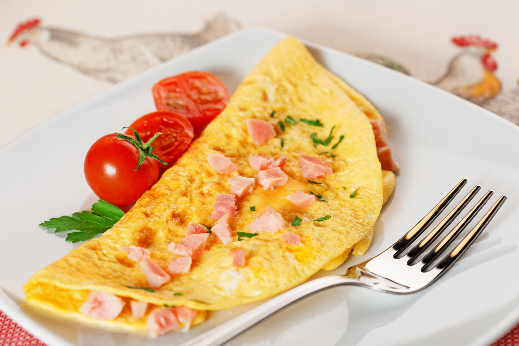 How many calories in an omelet 82