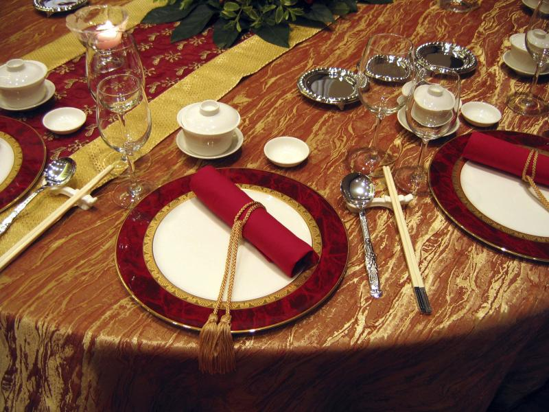 How to Set a Chinese Place Setting | Home Guides | SF Gate : traditional chinese table setting - Pezcame.Com