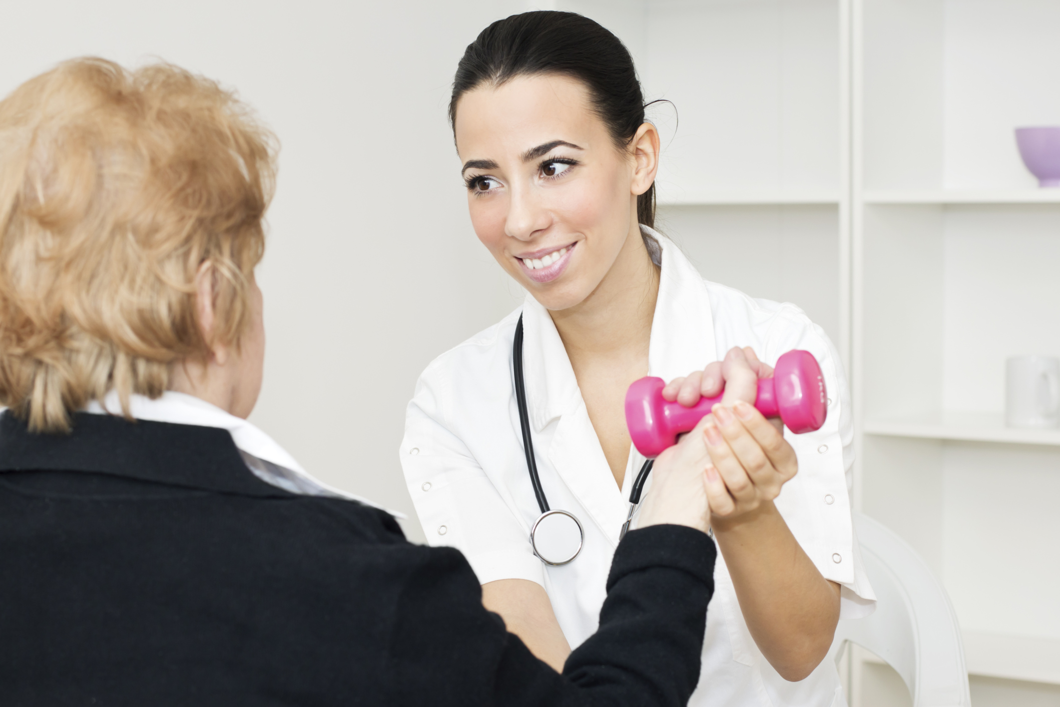 Muscle Relearning in Stroke Rehab With Electrical Stimulation