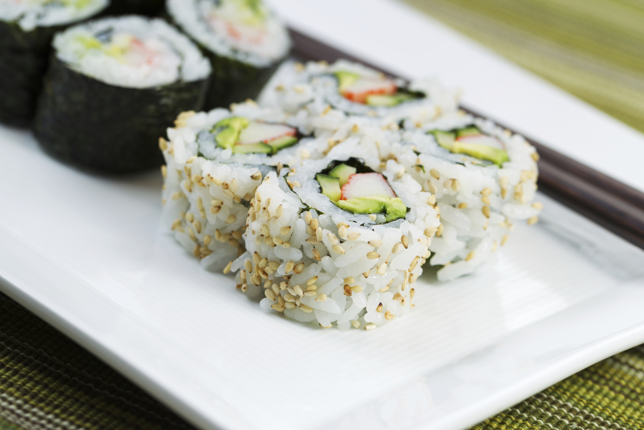 nutritional information on publix sushi livestrong com