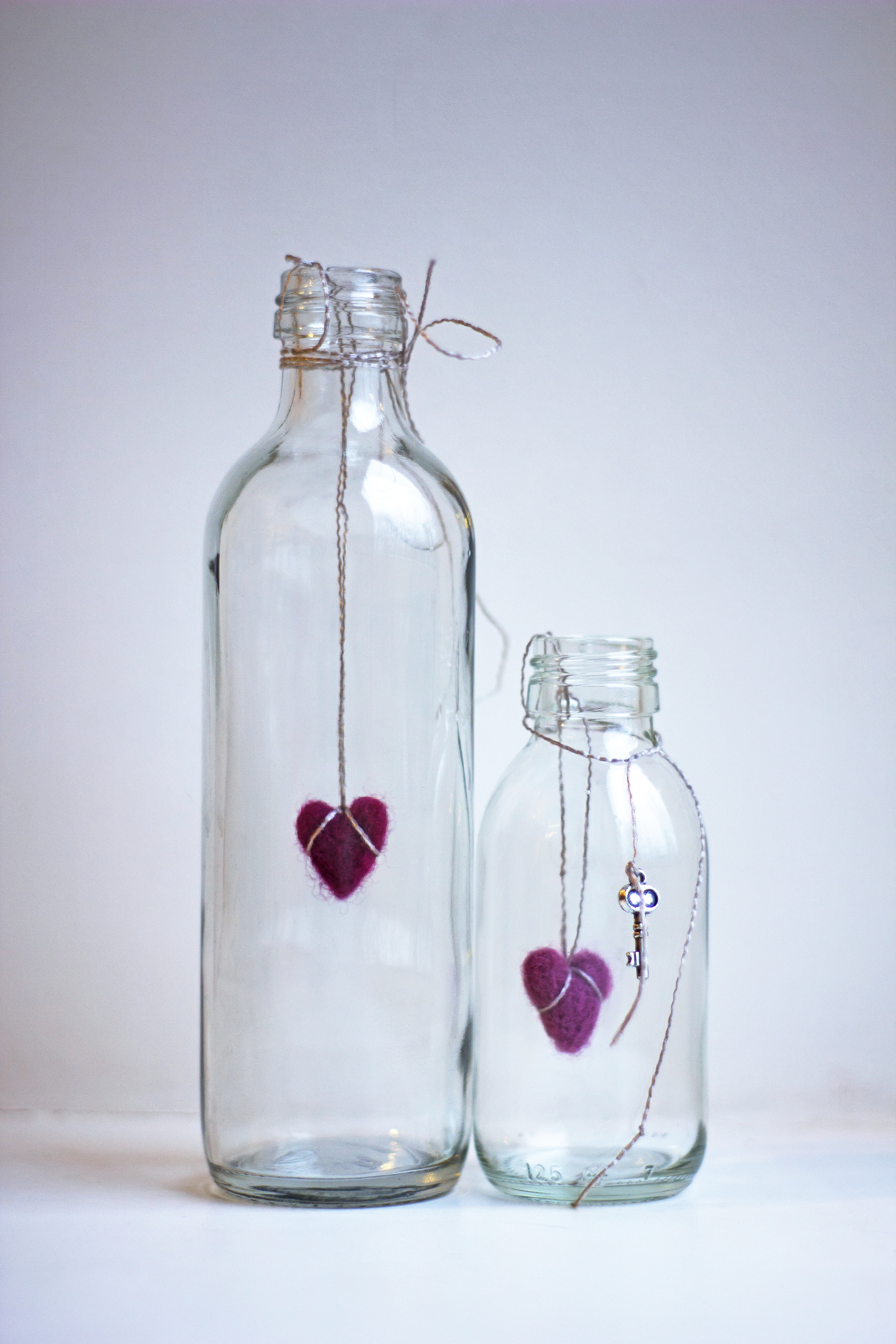 Decorar botellas de cristal awesome decorar los botes o - Decorar botellas de cristal ...