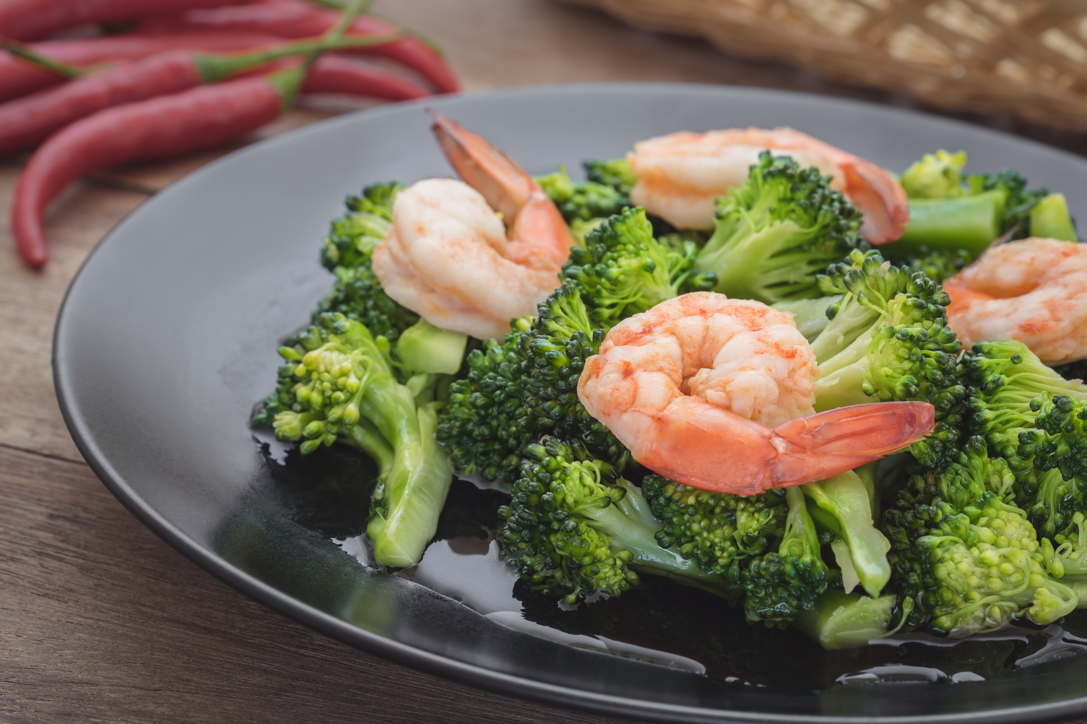 Shrimp: calorie and other features 46