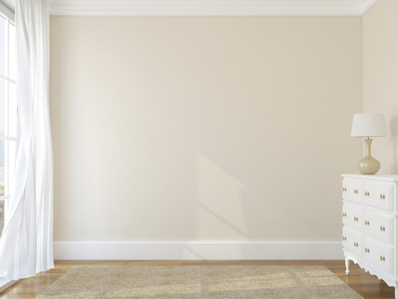 Can i paint one wall cream and one beige in a living room for Beige wall paint colors
