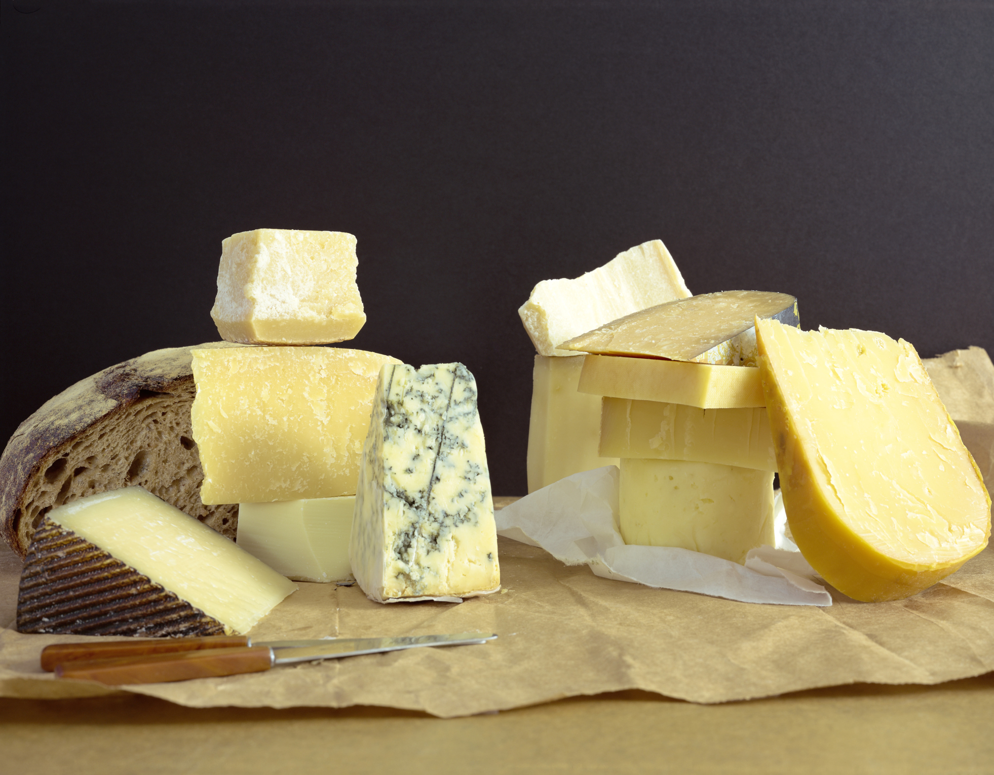 Cheese is a rich protein source.