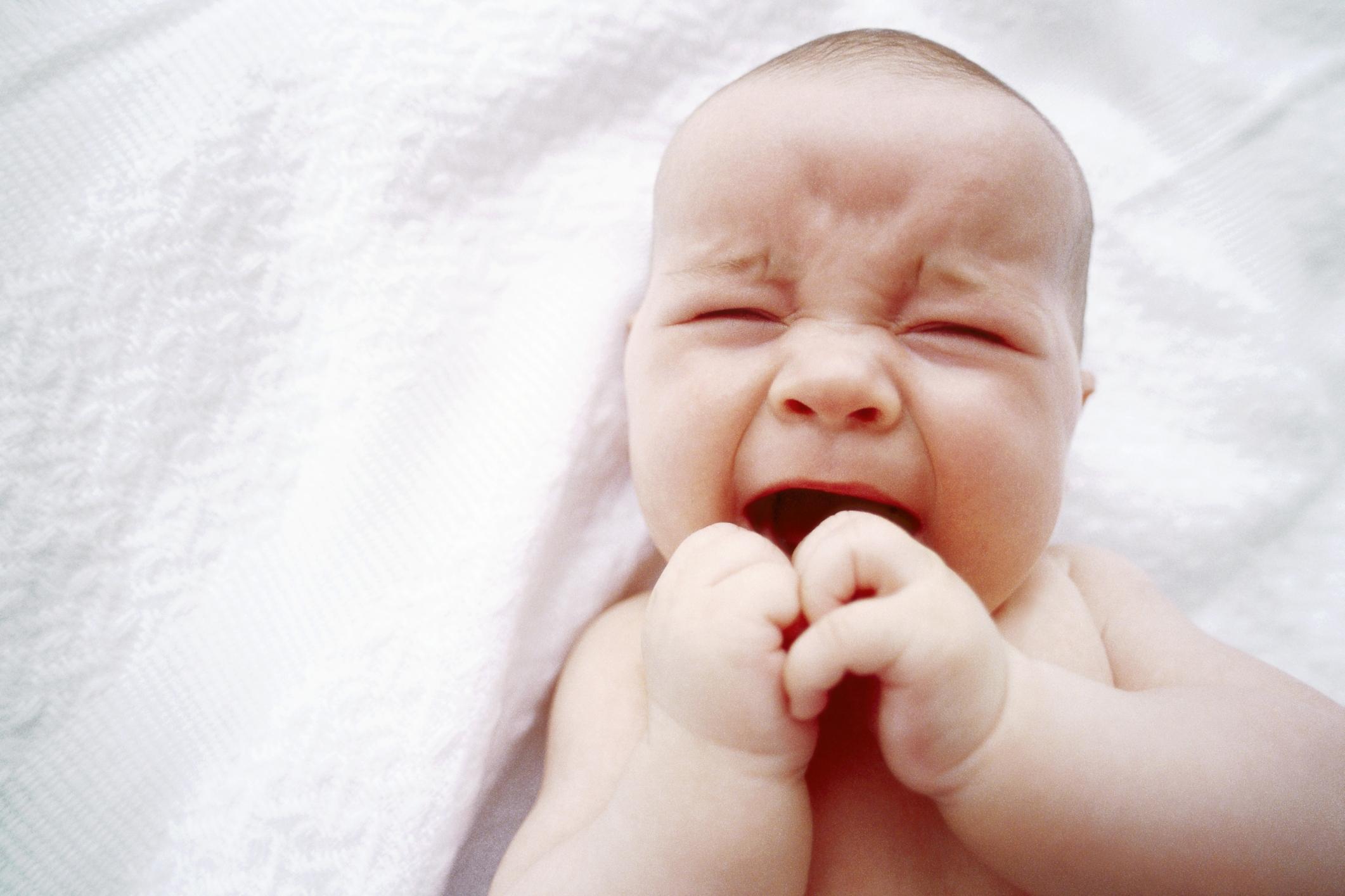 Blotchy Skin Rash on a Baby's Face