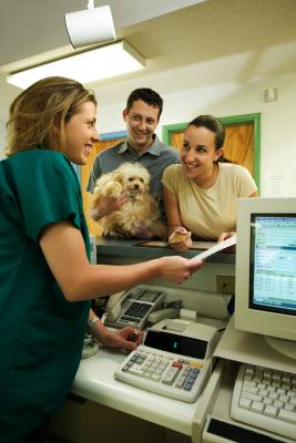 How To Get A Receptionist Job In A Vet Hospital Chron Com