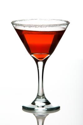 C mo escarchar el borde de un vaso de c ctel con az car o for Vasos de coctel