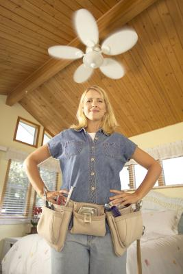 How To Build A Box For A Cathedral Ceiling Fan Home