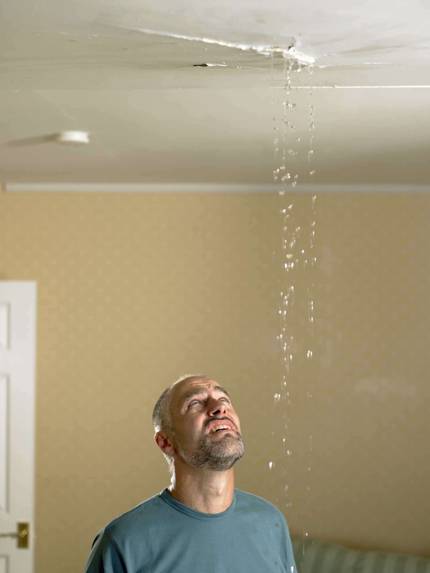 How To Fix A Leak From The Upstairs Bathroom Home Guides