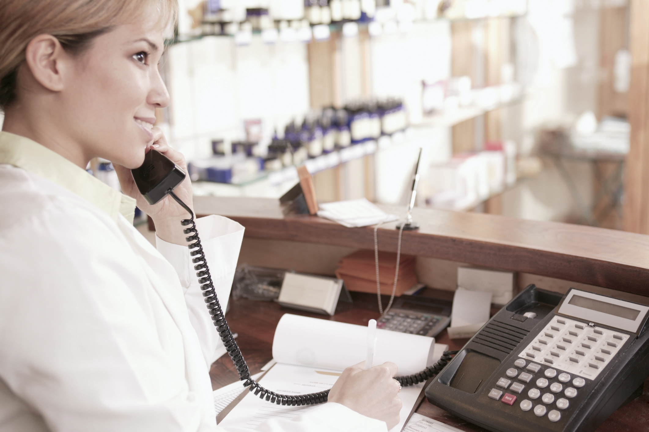 description of the duties for salon receptionists ehow uk