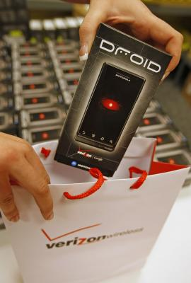 The DROID format is a popular competitor to Apple's iPhone.