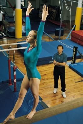 Plano gymnast Bross the boss, and champ, at nationals