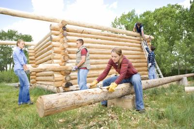 How much does it cost to build a log cabin ehow uk Cost to build a cottage