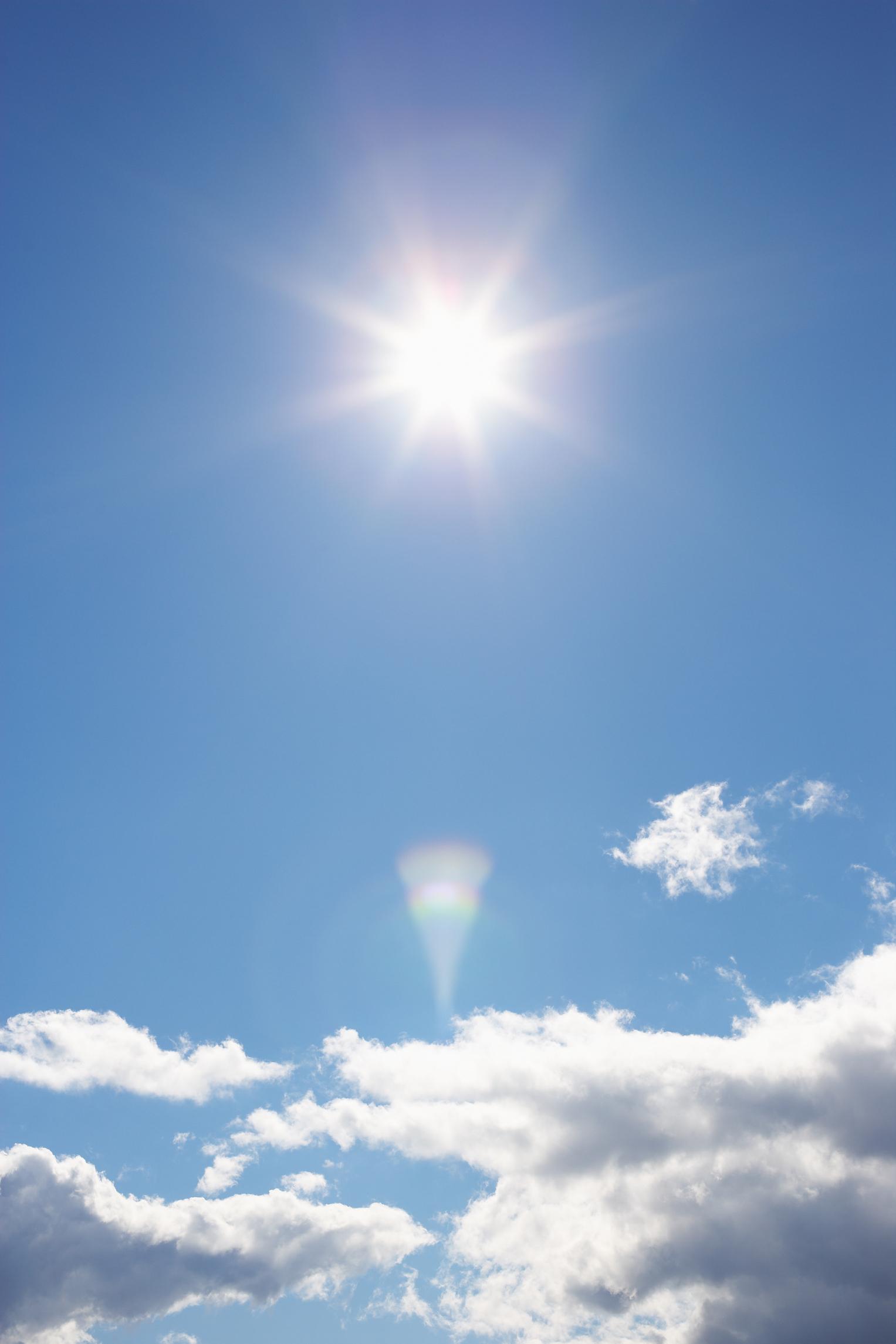 The sun provides vitamin D.
