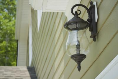 How To Install An Exterior Light Fixture On Siding Home Guides Sf Gate