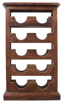 how to make a cabinet into a wine rack