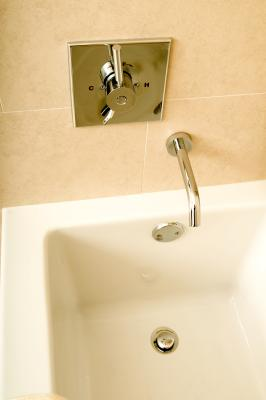 How To Remove An Old Lever Style Bath Tub Drain Stopper