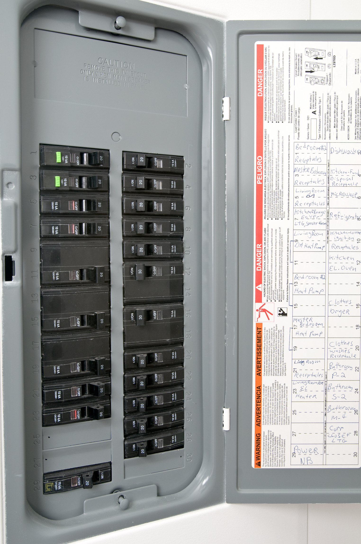 U00bb Panel Electrico Principal
