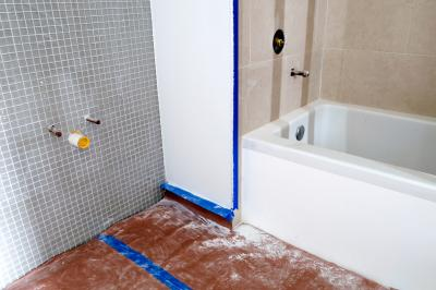 how to install a bathtub drain when a joist is in the way