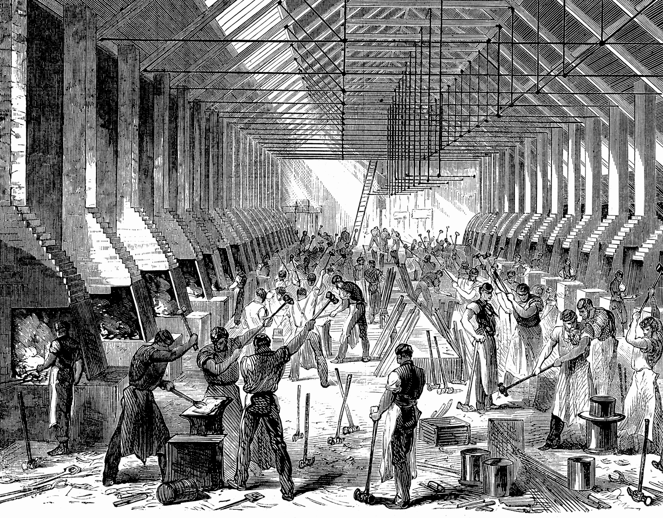 Why Did Immigrants Join Factories In The Late 1800s Through 1920s