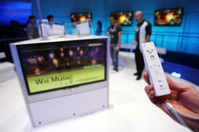 The Wii Remote needs to be charged in order to connect to the system via Bluetooth.